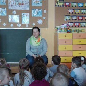 2018-03-06: Spotkanie z panią Bibliotekarką