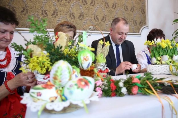 Życzenia Wielkanocne składa Burmistrz Miasta Grybów Paweł Fyda