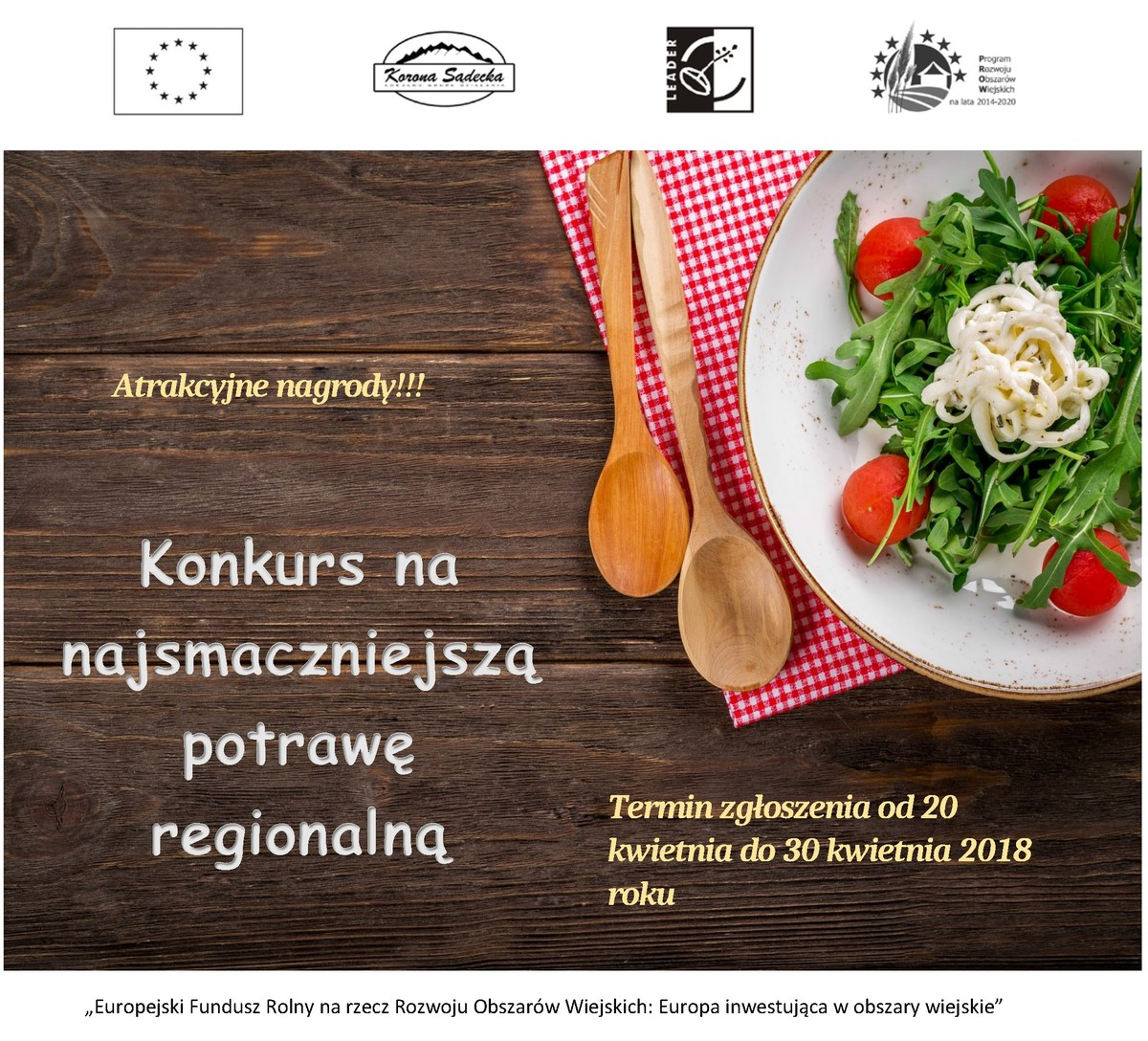 Konkurs nanajsmaczniejszą potrawę regionalną