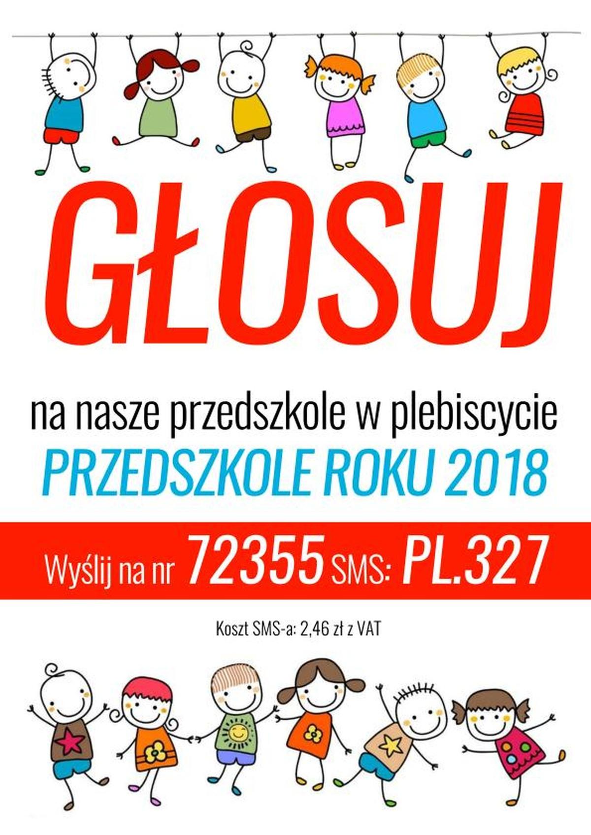 Plebiscyt ''Przedszkole roku 2018''