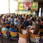 """2018-04-13: Teatr kukiełkowy dla dzieci """"Królewna żabka"""""""