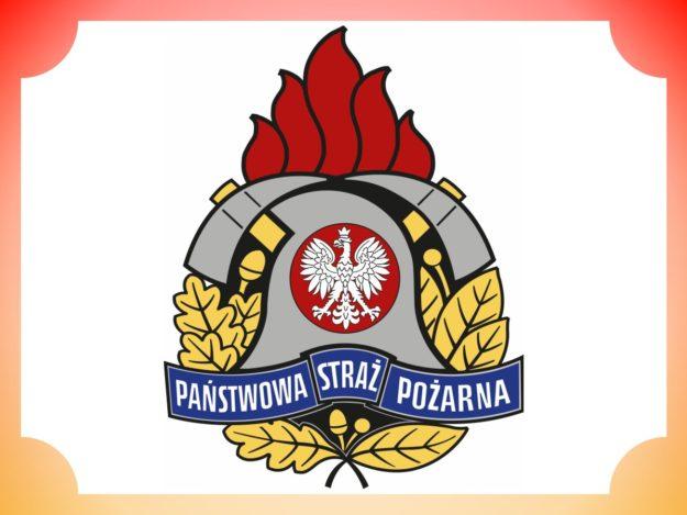 Logo: Państwowa Straż Pożarna