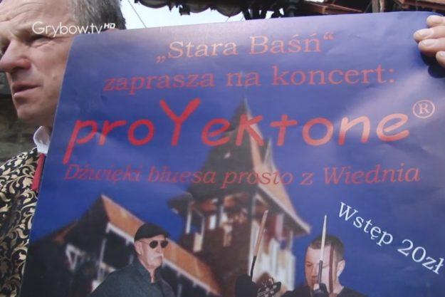 W Starej Baśni w Grybowie odbędzie się koncert zespołu proYektone