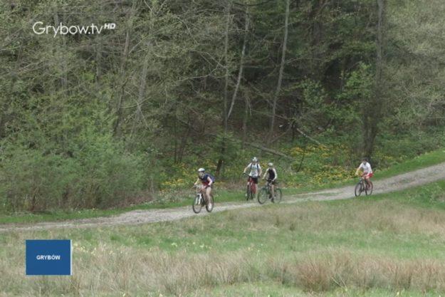 2018-04-15: Pieszo-rowerowe rozpoczęcie sezonu w Grybowie