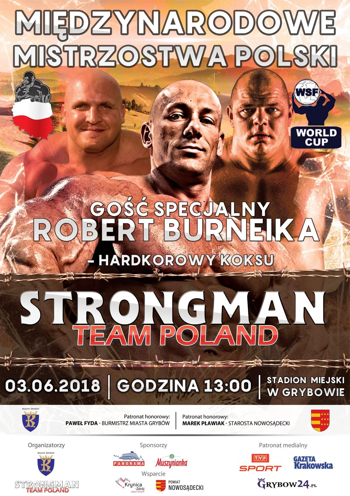 Międzynarodowe Mistrzostwa Polski Strongman 2018