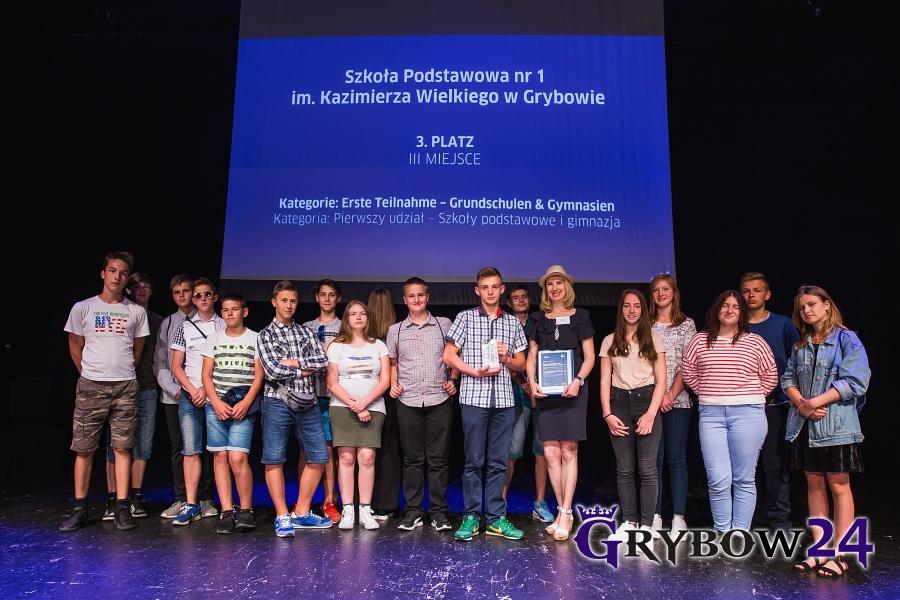 2018-06-07: Niemiecki ma klasę. Gimnazjaliści z Grybowa na podium!