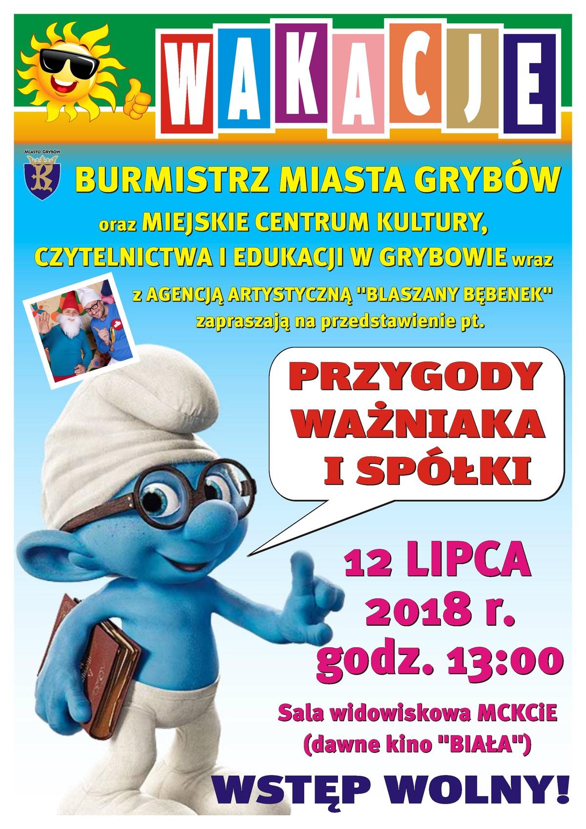"""Przedstawienie """"Przygody Ważniaka ispółki"""""""