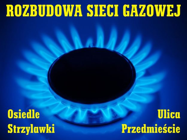 Rozbudowa sieci gazowej na terenie Osiedla Strzylawki i ul. Przedmieście