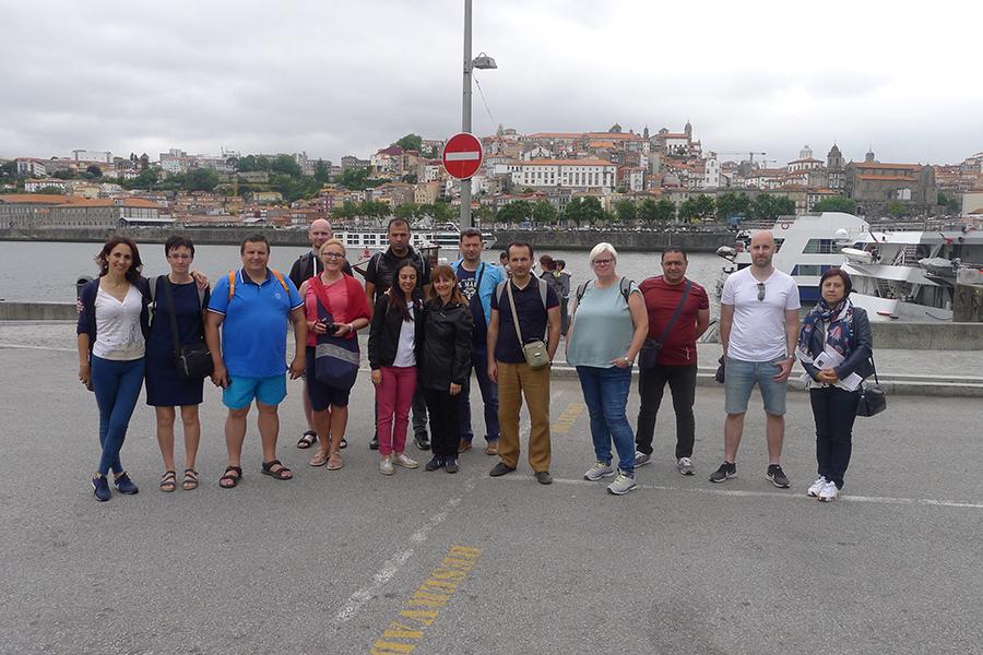 Spotkanie ewaluacyjne projektu Erasmus+ w Portugalii