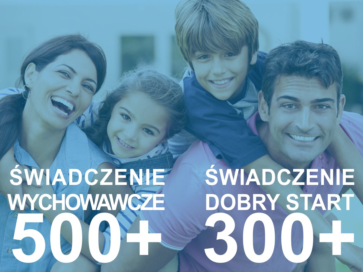 "Program ""Dobry start"" oraz ""500+"""