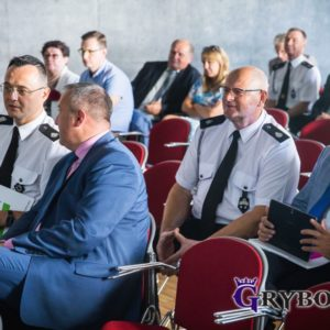 2018-08-03: Miasto Grybów pozyskało dotację na zakup strażackich mundurów