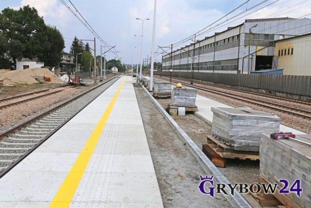 2018-07/08: Prace przy dworcu kolejowym na ukończeniu