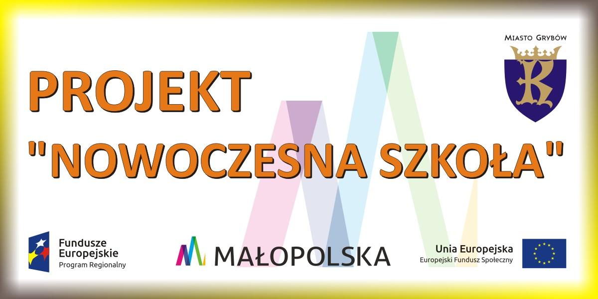 """Projekt """"Nowoczesna szkoła"""" wJedynce"""