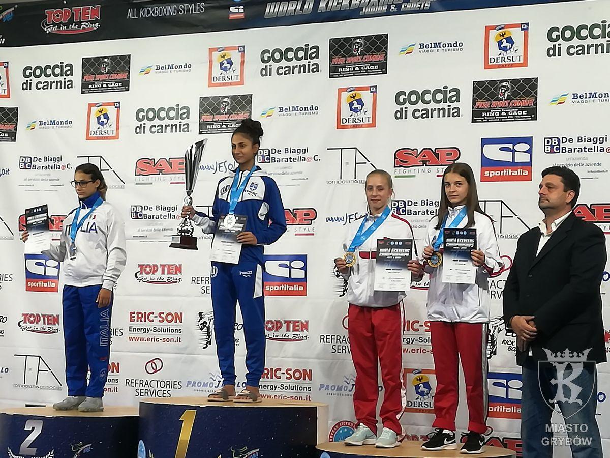 Mistrzostwach Świata w Kickboxingu we włoskim Lido Di Jesolo (15-23 IX 2018 r.)