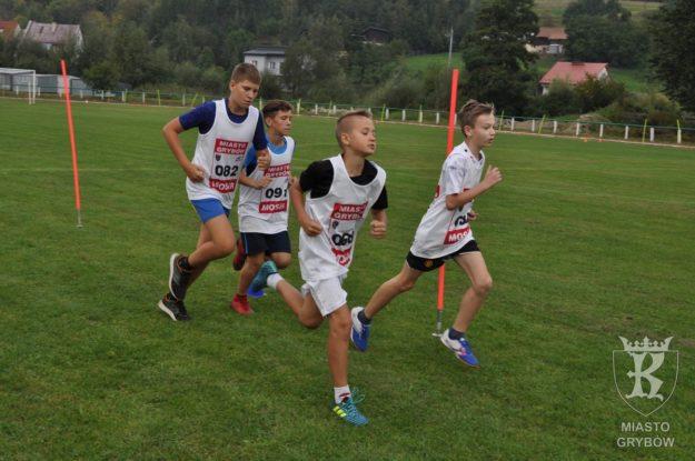 2018-09-08: Jesień Grybowska 2018 - Bieg Grybowiaka