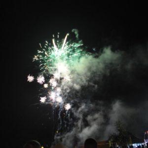 2018-09-09: Jesień Grybowska 2018 - Pokaz ogni sztucznych