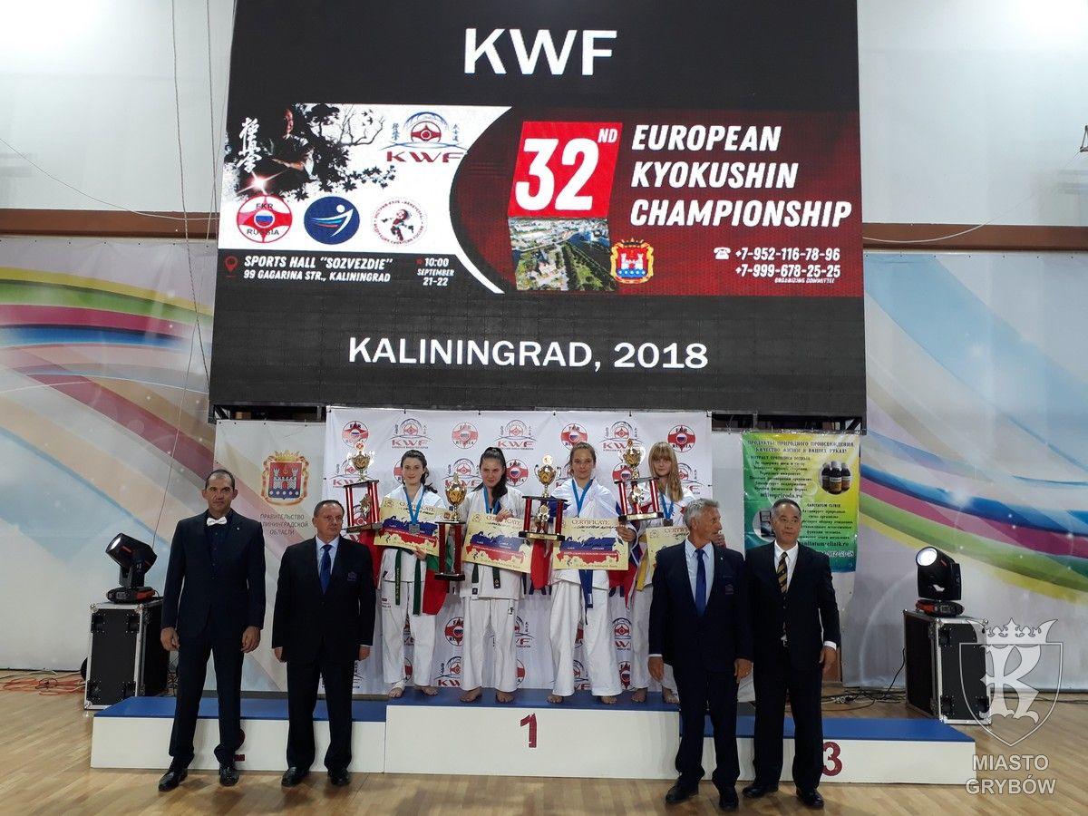 Karolina Sekuła - Brązowa Medalistka Mistrzostw Europy Karate Kyokushin