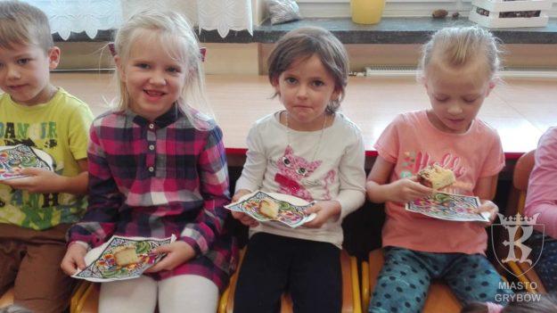 Koło Gospodyń Wiejskich z wizytą w przedszkolu
