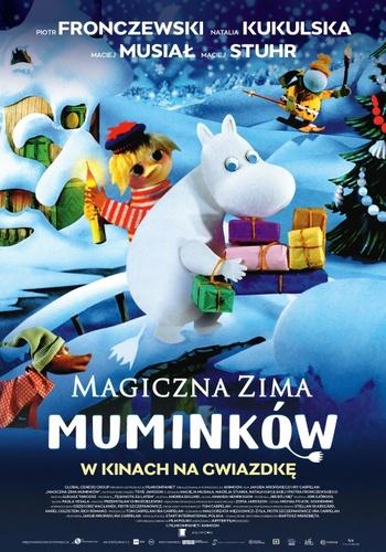 "Plakat ""Magiczna zima Muminków"""