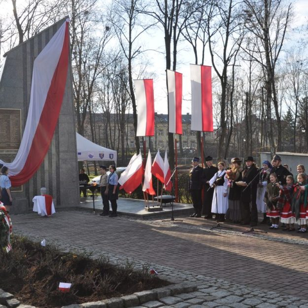 2018-11-11: Narodowe Święto Niepodległości w Grybowie