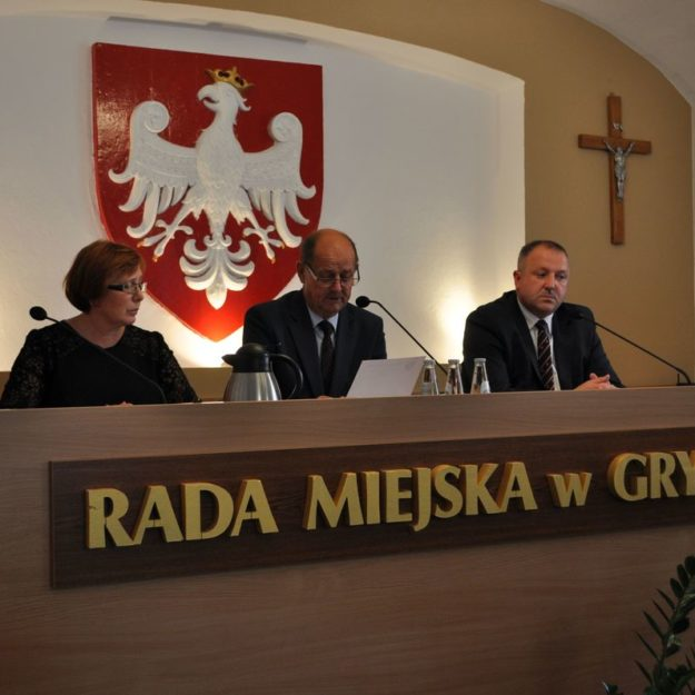 VIII uroczysta Sesja Rady Miejskiej w Grybowie wieńcząca kadencję 2014-2018