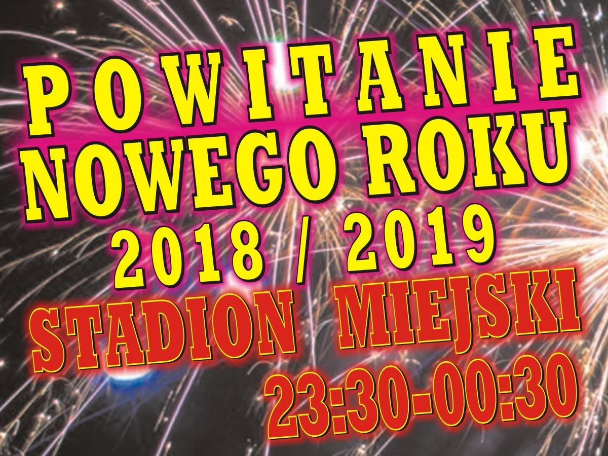 Powitanie Nowego Roku 2019
