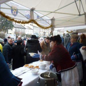 2018-12-23: IV Wigilia na Rynku w Grybowie