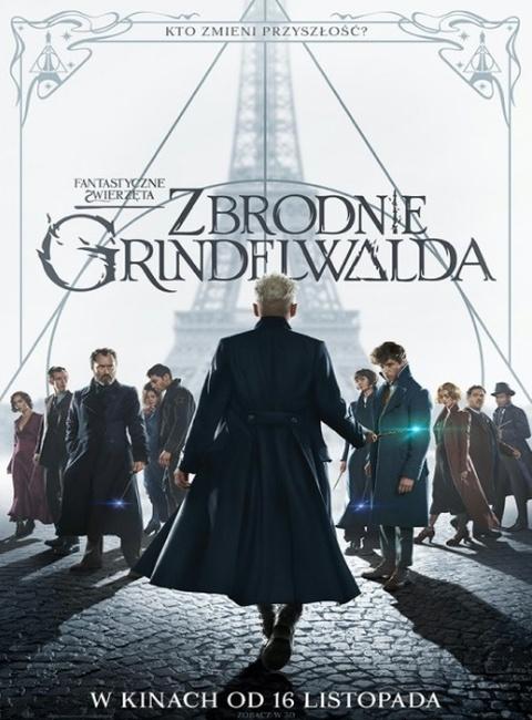 """Plakat """"Zbrodnie Grindelwalda"""""""