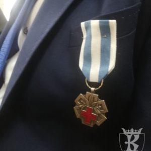 """2018-11-16: Odznaczenia """"Zasłużony dla Zdrowia Narodu"""" dla członków Klubu Honorowych Dawców Krwi """"ADMA"""" w Grybowie"""