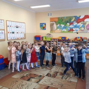 """2018-11-29: """"Zabawa Andrzejkowa"""" przedszkolaków"""
