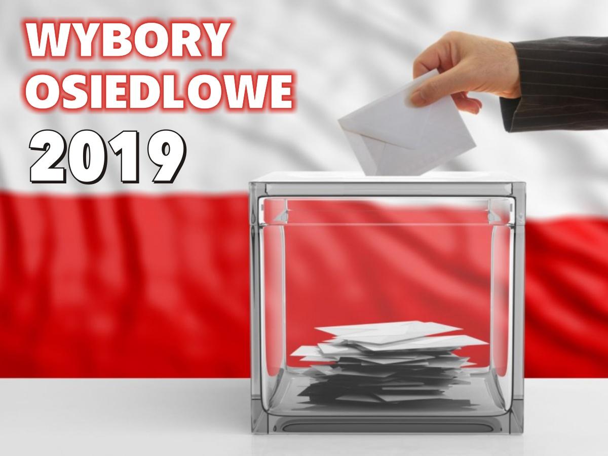 Wybory osiedlowe 2019