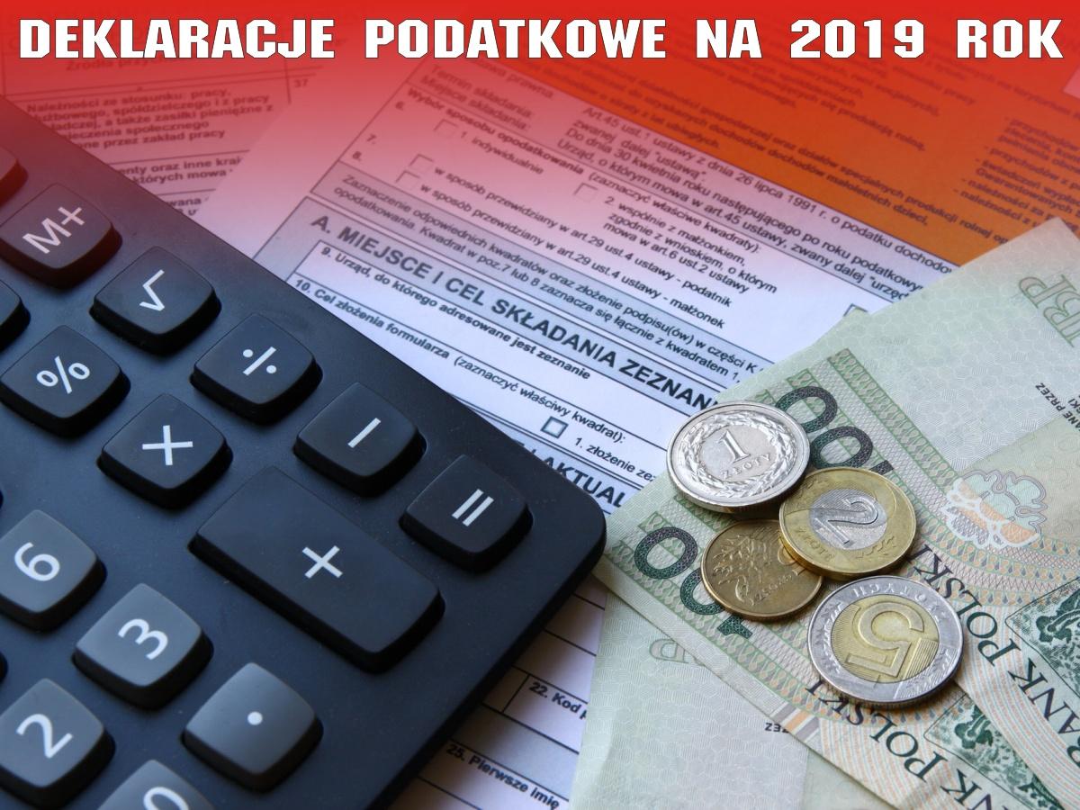 Nowe wzory formularzy informacji i deklaracji podatkowych