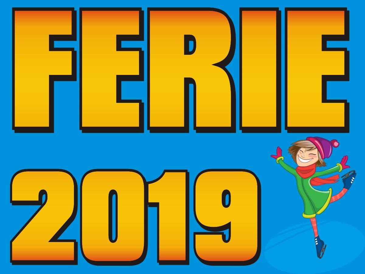 Ferie 2019: Harmonogram zajęć