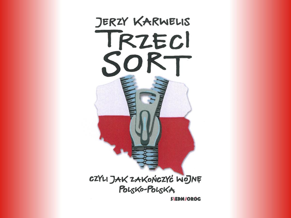 """Promocja książki Jerzego Karwelisa """"Trzeci sort..."""""""