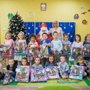 2018-12-06: Święty Mikołaj gościem w naszym przedszkolu