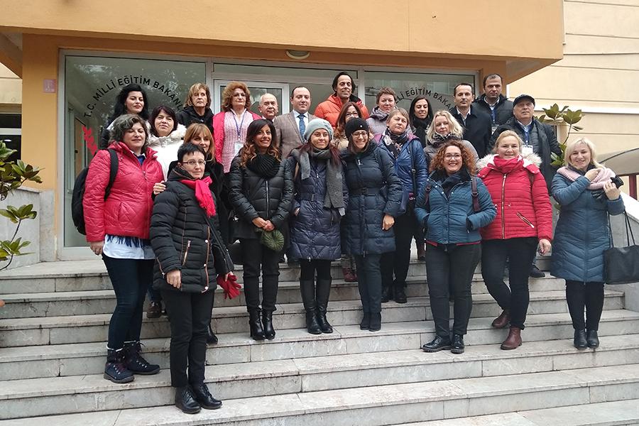 """2019-01-06/12: Nauczyciele z """"Jedynki"""" wymieniali się doświadczeniami w Turcji"""
