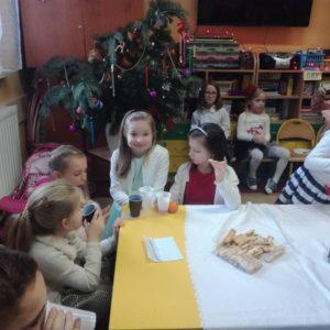 2018-12-21: Wigilia w Szkole Podstawowej Nr 2 w Grybowie