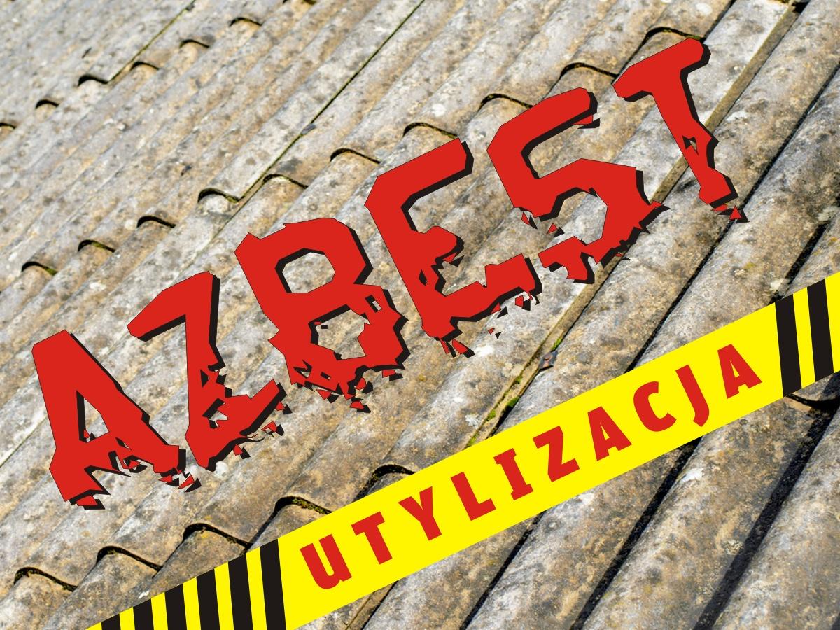 Informacja o naborze wniosków o usunięcie i unieszkodliwienie odpadów zawierających azbest