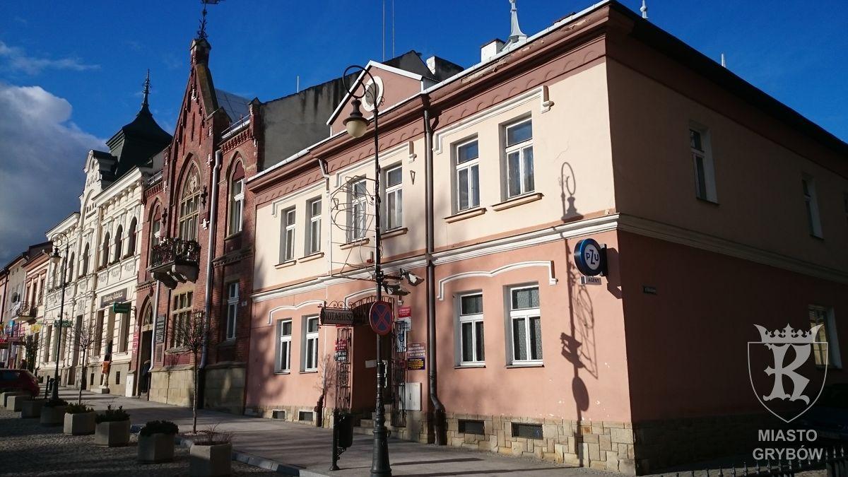 Budynek Urzędu Miejskiego w Grybowie
