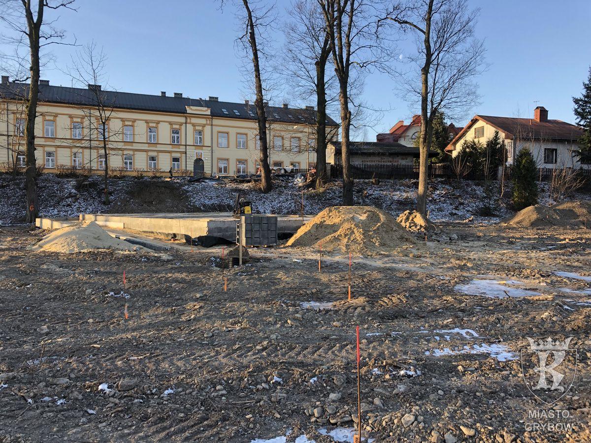 2018/12-2019/02: Realizacja inwestycji w Parku Miejskim
