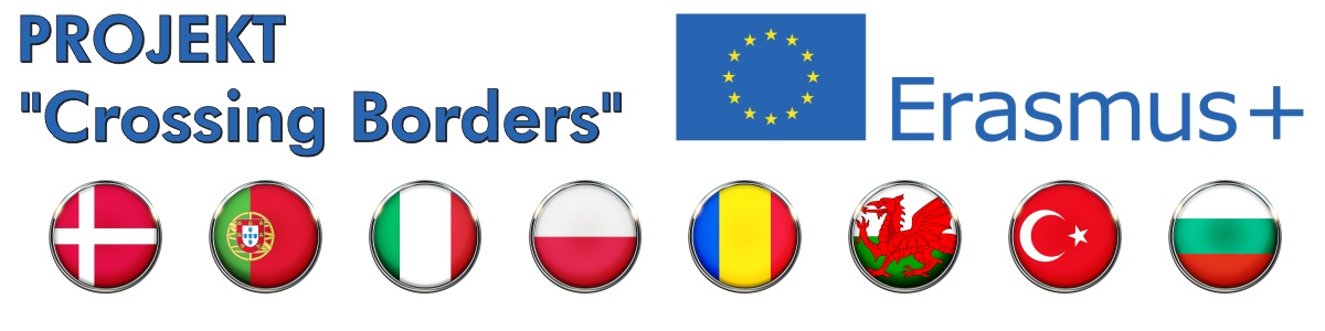 "Projekt Erasmus+ ""Crossing Borders"""