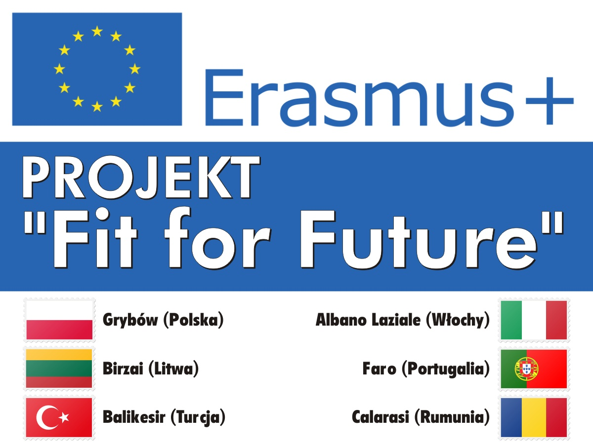 "Projekt Erasmus+ ""Fit for Future"""