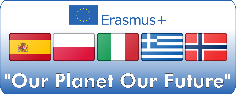 Projekt Erasmus+ 'Our Planet Our Future'
