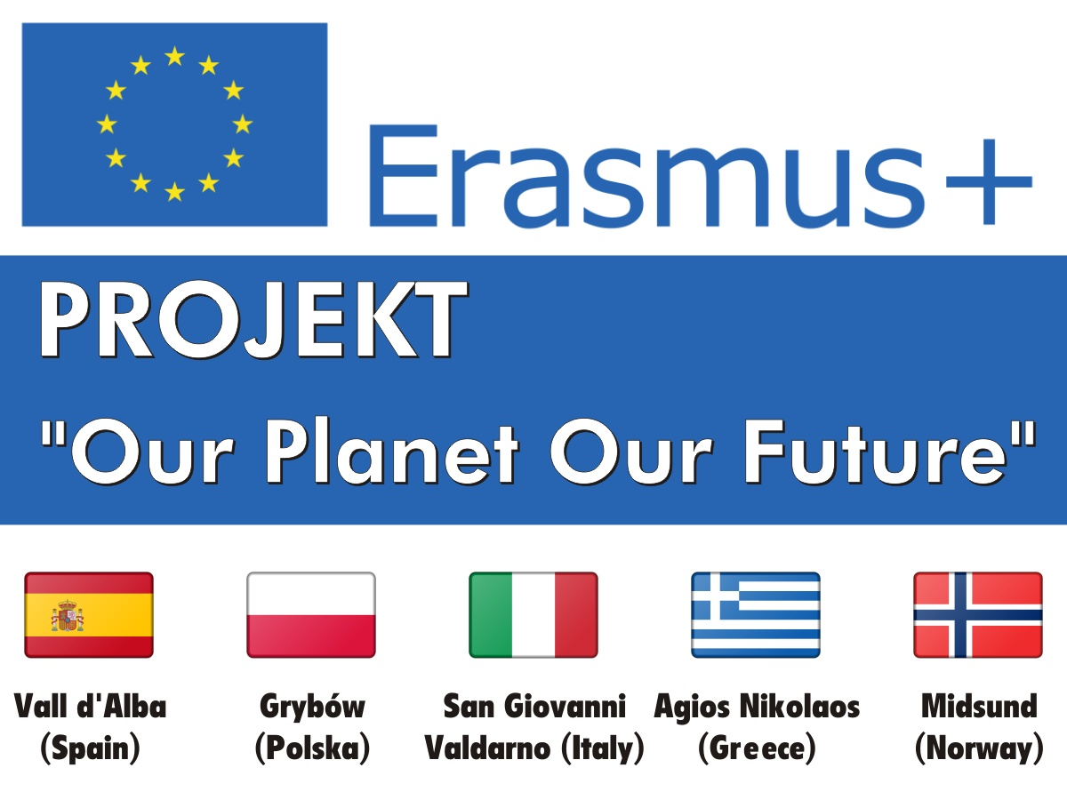 "Projekt Erasmus+ ""Our Planet Ou Future"""