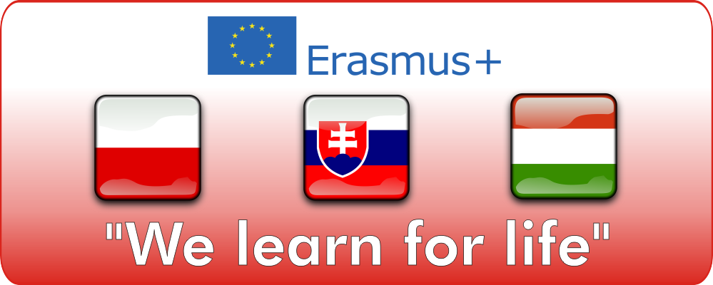 Projekt Erasmus+ 'We learn for Life'