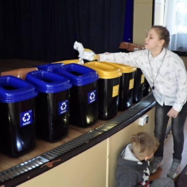 """2019-03-08: Akcja ekologiczna """"Segregacja śmieci"""""""