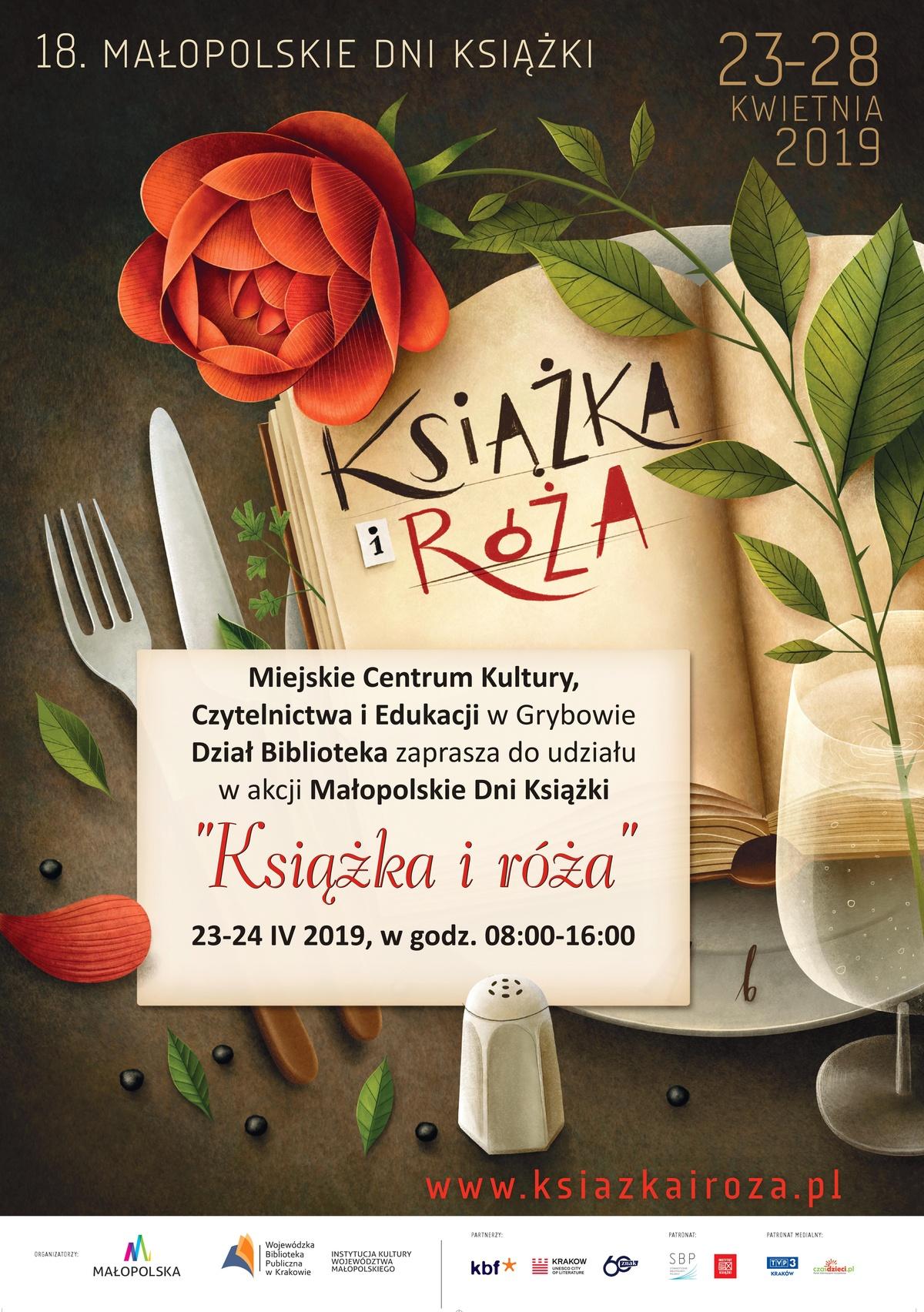 """Małopolskie Dni Książki """"Książka iRóża"""""""
