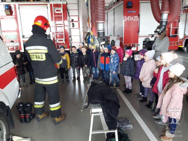 2019-03-19, 26: Z wizytą u strażaków w Nowym Sączu