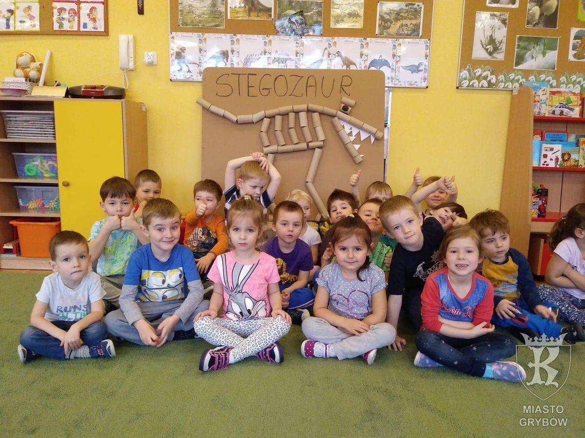 W prehistorycznych czasach... Stegozaur