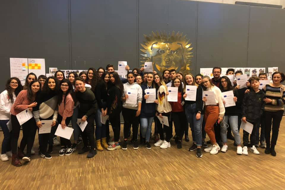 "Projekt Erasmus+ ""Crossing Borders"": wyjazd do Danii"